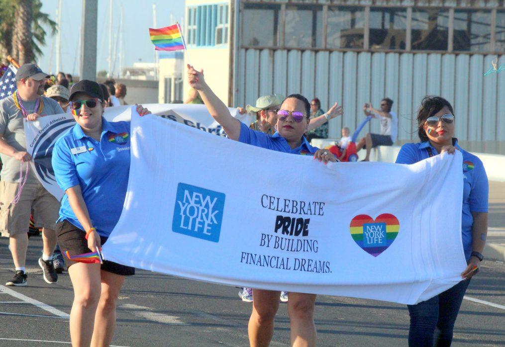 Annual PRIDE Parade Encouraging Entries
