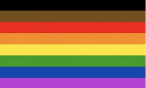 Philadelphia People Of Color Inclusive Flag