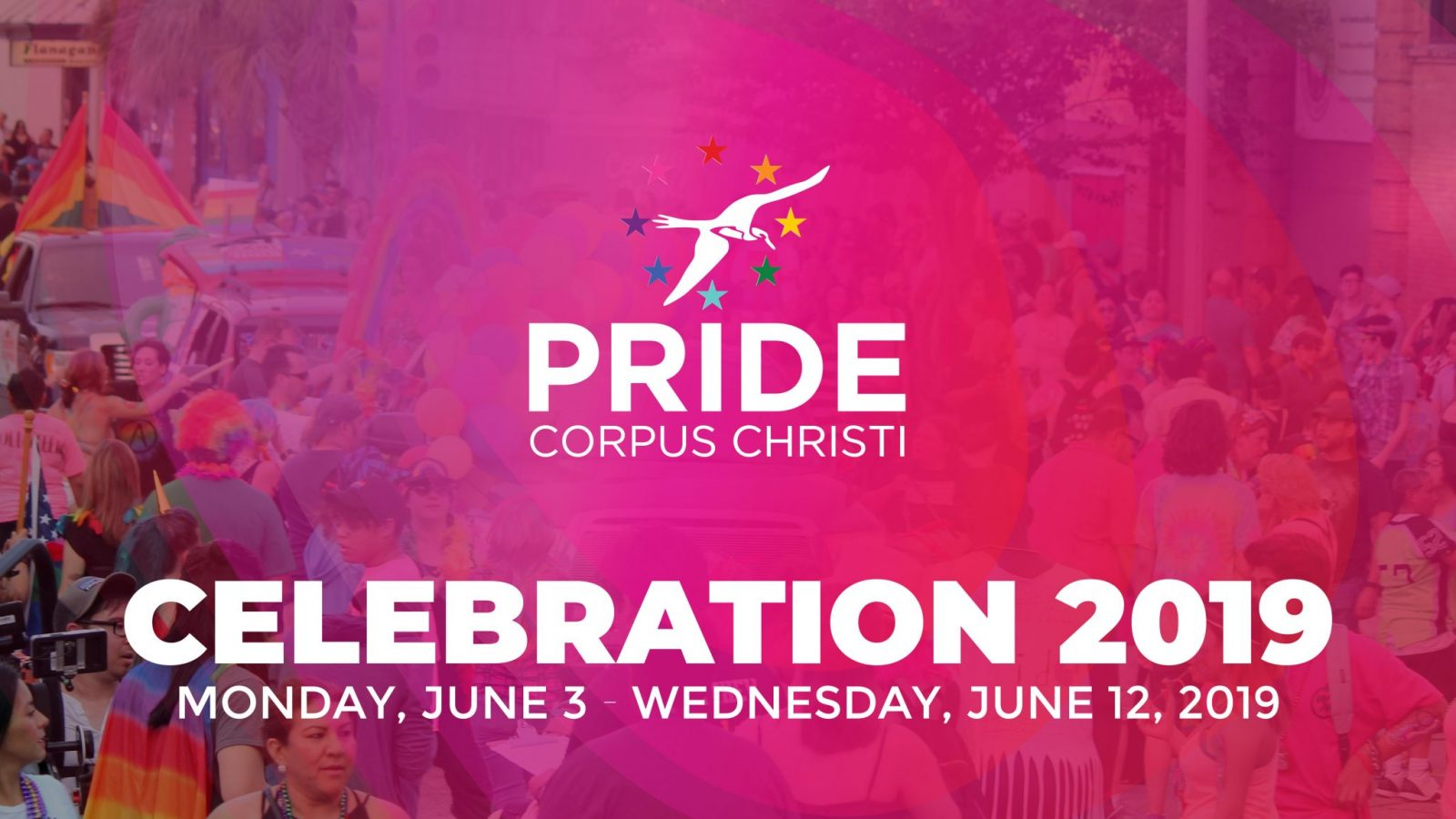 Announcing 2019 PRIDE Corpus Christi Celebration