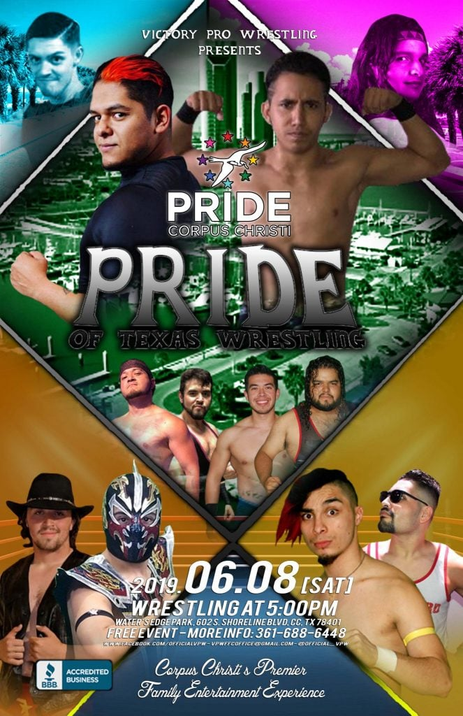 Pride of Texas Heavyweight Champion to be Crowned During Block Party