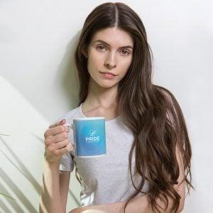 Blue PRIDE Mug