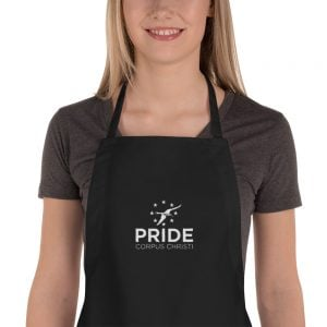 PRIDE Embroidered Apron